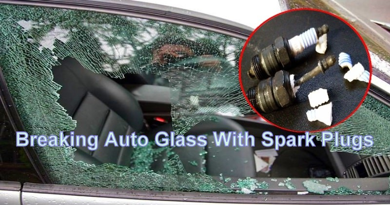 How To Break A Window Silently With A Spark Plug